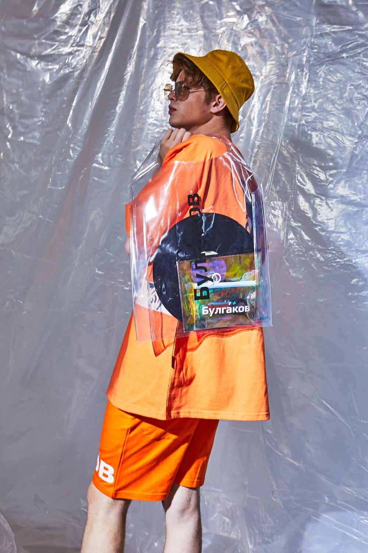 불가코프(BULGAKOV) 투명 PVC 쇼퍼백 셋트